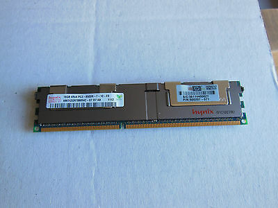 HP P/N 500207-071-24 pcs of 16GB modules 4Rx4 PC3-8500R ECC RAM  (384 Gb)