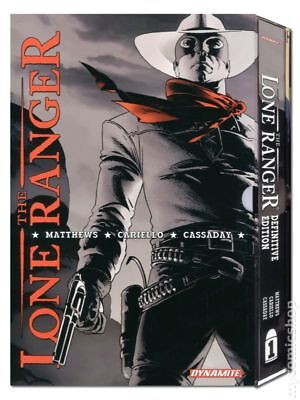 Lone Ranger HC (Dynamite) Definitive Edition #1-1ST 2010 VF Stock Image