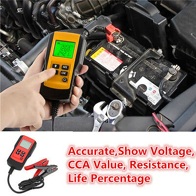 New LCD Automotive 12V Car Vehicle Battery Load Tester Analyzer Diagnostic Tool