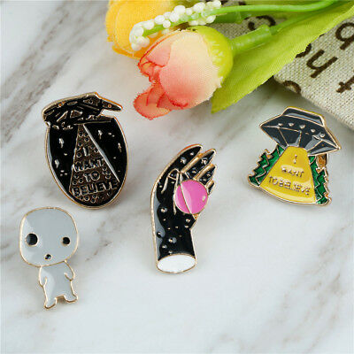 Enamel Creative Design All match Brooch Individuality Coat Bag Pin Brooches FT