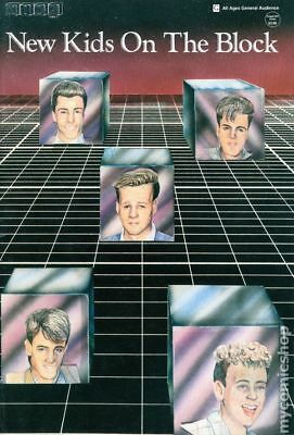 New Kids on the Block (Concert Express) #1 1990 GD/VG 3.0 Stock Image Low Grade