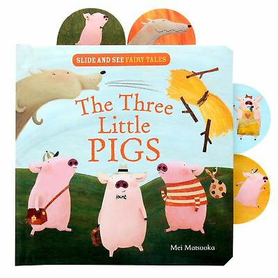 Slide And See The Three Little Pigs Fairy Tale Story Book Bedtime Read Fun