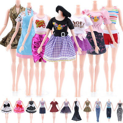 1/5pcs Beautiful  Princess Doll Dress Noble Party Gown For Barbie Doll Clothes