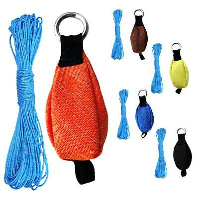Professional 250g Throw Weight Bag & 49ft Throw Line for Tree Climbing Rope Work