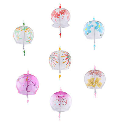 Japanese Wind Chimes Wind Bells Handmade Glass Birthday Gift Christmas Gift