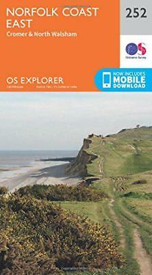 OS Explorer Map (252) Norfolk Coast East by Ordnance Survey | Map Book | 9780319