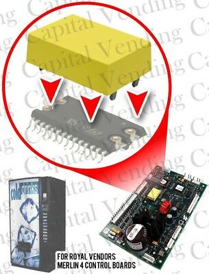 New Replacement Lithium Yellow Battery for Royal Vendors Merlin 4 Control Boards
