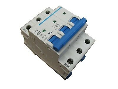 CHNT Double Pole AC230//400V Circuit Breaker Din rail mounting New 20A