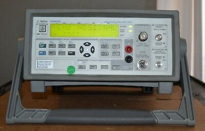 Agilent 53147A Microwave Frequency Counter/Power Meter/DVM 20GHz GOOD
