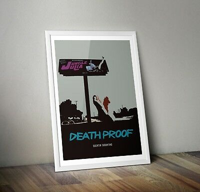 Death Proof Quentin Tarantino Inspired Movie Print/ Film Poster art A3 A4 A5