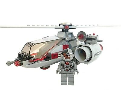 LEGO CYBORG & HELICOPTER (76098) - DC Super Heroes Justice League Minfigure NEW