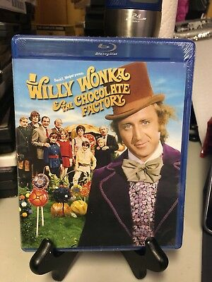 Willy Worka And The Chocolate Factory Brand New Blu-ray Gene Wilder Free Ship