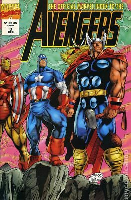 Official Marvel Index to the Avengers #3 1994 FN Stock Image