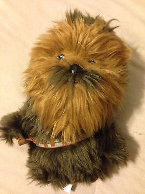 "NEW Star Wars Chewbacca 7"" Plush Figure Comic Images Lucas Films"