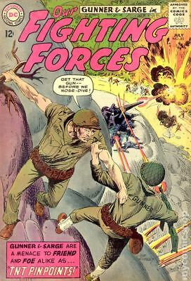 Our Fighting Forces #85 1964 VG- 3.5 Stock Image Low Grade