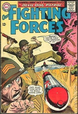Our Fighting Forces #88 1964 VG+ 4.5 Stock Image