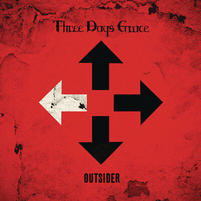 Three Days Grace - Outsider [New CD]