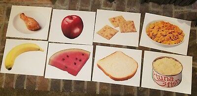 24 Vintage 1986 National Dairy Council Milk 8x10 Cards Educational Dietary Lot