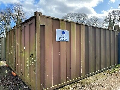 20ft Double container Joined Together  Open Plan