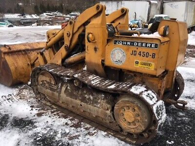 JOHN DEERE 450B crawler dozer track loader w/ HLR power reverser NEW  CLUTCHES