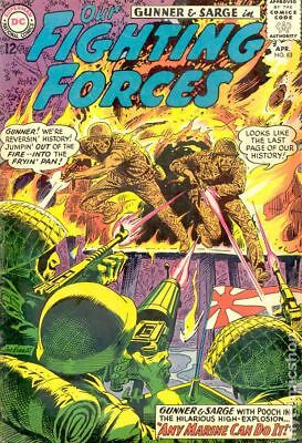 Our Fighting Forces #83 1964 VG 4.0 Stock Image