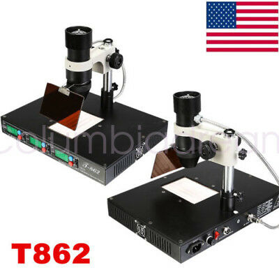 T862 T862++ BGA Rework Station Welder Machine Infrared Lamp Bulb Replacement US