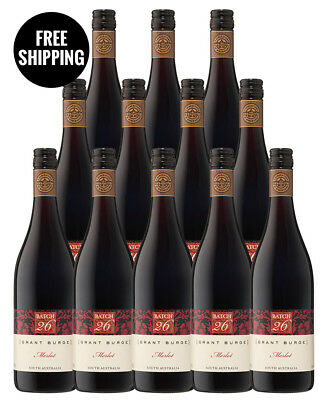 Grant Burge Batch 26 Merlot 2017 (12 Bottles)