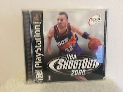 ***nba Shootout 2000 Ps1 Playstation 1 Disc Only~~~