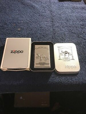 Camel Zippo Lighter Original 1932 Replica Second Release USA 1996 Vintage New
