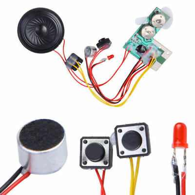 5x7 blank talking greeting card recordable sound music voice chip 10sec recordable voice module for greeting card music sound talk chip musical us m4hsunfo