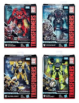 (P) Hasbro Takara Tomy Transformers Studio Series Deluxe Class Action Figure