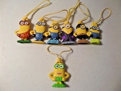 7 General Mills Cereal Minions Inserts (Includes Target Exclusive Au Natural-HTF