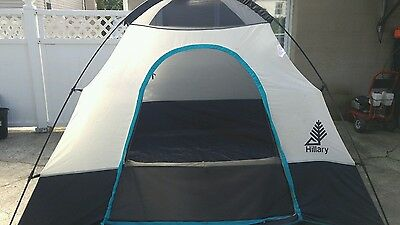 9u0027 by 9u0027 Hillary Domed 5 person ... & 6 PERSON HILLARY DOME TENT 12 x 12 with stakes and carry sack ...