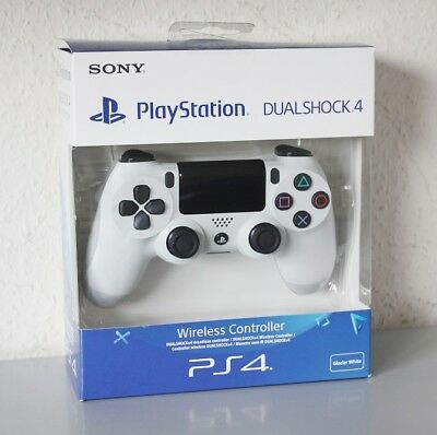 Sony PlayStation 4 PS4 - DualShock 4 Wireless Controller, weiß V2 NEU