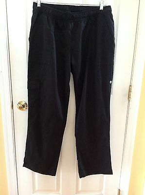 NWOT Chef Works - CPWO-BLK-2XL - Women's Black Cargo Chef Pants (2XL)