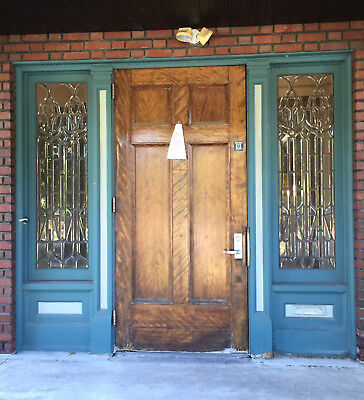 1911 Mansion Doors Side lites and Door Package Entry with Door w/ Jamb and