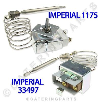 Imperial Elite Gas Fryer Control & High Limit Control Thermostat Set Ifs40 If40