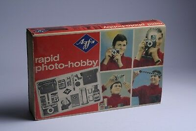 Agfa-Rapid Photo Hobby Labor + Rondix + Filme + Chemie