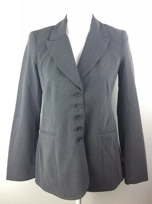 Motherhood Maternity Women's Blazer size Small gray 5 Buttons Career Workwear