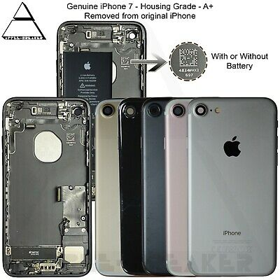 Apple iPhone 7 & 7 Plus REAR BACK CHASSIS HOUSING WITH Original PARTS - Grade A+