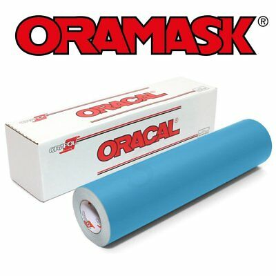 "ORAMASK 813 Paint Mask Stencil Firm 3mil, Adhesive Water-based - 24"" x 10YD Roll"