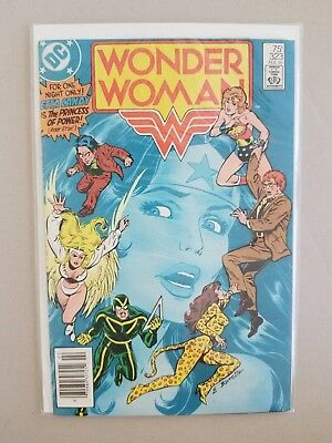 Wonder Woman 323 Vf/nm Range Never Read Newsstand Edition