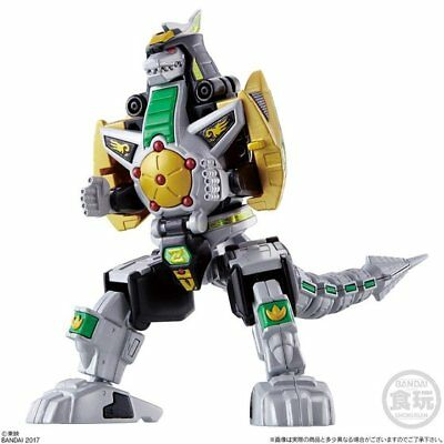 Bandai Shokugan Super Mini Pla Power Rangers Dragonzord Model Kit USA Seller