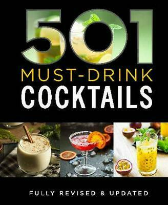 501 Must-Drink Cocktails by Bounty Hardcover Book Free Shipping!