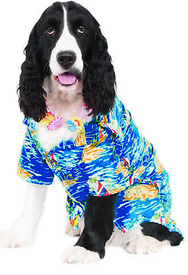 Luau Pet Dog Cat Vacation Hawaiian Aloha Beach Costume Shirt