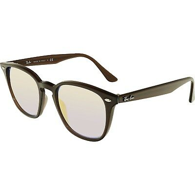Ray-Ban Women's Mirrored RB4258-62311N-50 Brown Square Sunglasses