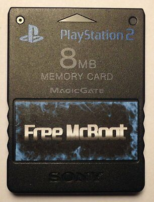 FMCB Official Sony PlayStation 2 Memory Card with Free Mcboot 1.953