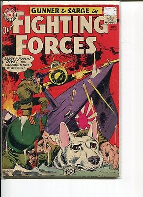 Our Fighting Forces 87 Vg-Fn Colan Kubert Abel 1964