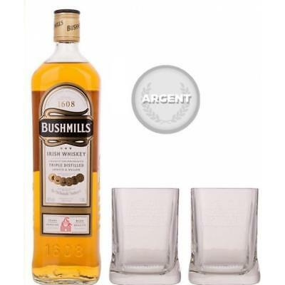 Original - Blended Irish Whiskey - 40% - 1 L - Coffret 2 verres