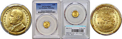 1903 La. Purchase - McKinley $1 Gold Commemorative PCGS MS-67